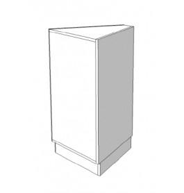 Toonbank dichtgewerkte driehoek van 45° C-PEK-012