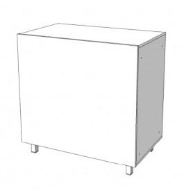 Toonbankkast met planken C-PHR-006