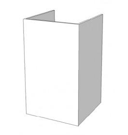 Smalle toonbank met open bovenkant lade en vakken C-PKL-003