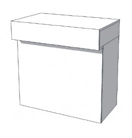 Toonbank U-Frame Thick C-PUH-005