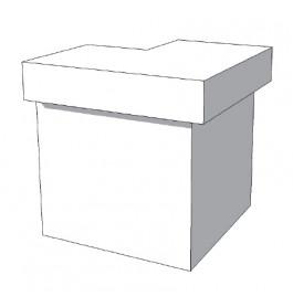 Toonbank U-Frame Thick C-PUH-007