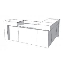 Toonbank U-Frame Thick C-PUH-016-COMP