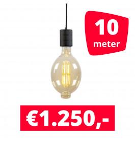 LED Railverlichting Colosseum Retro 2100K 10 spots + 10M rails