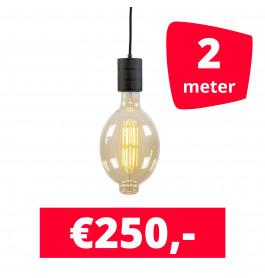LED Railverlichting Colosseum Retro 2100K 2 spots + 2M rails