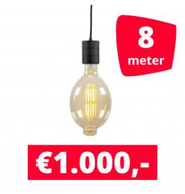 LED Railverlichting Colosseum Retro 2100K 8 spots + 8M rails