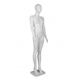 Plastic collection Etalagepop dame wit faceless OZ1600-01