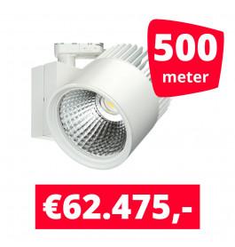 LED Railverlichting Concentra Wit 3000K 500 spots + 500M rails