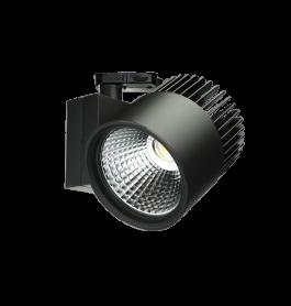 Concentra LED tracklight 4500Lm 3000K Black