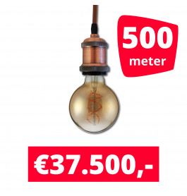 LED Railverlichting Horeca Craft Brown 500 spots + 500M rails