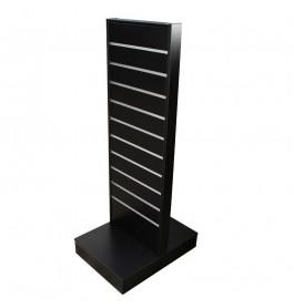 Slatwall Displayrek-400 zwart SL62086