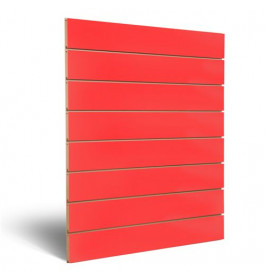 Slatwall wandrek rood 6215012