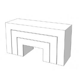 Set van 3 stuks super hoogglans tafels E-EPR-001