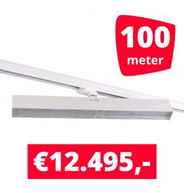 LED Railverlichting Easy Focus Wall 60 cm Wit 100 spots + 100M rails