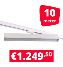 LED Railverlichting Easy Focus Wall 60 cm Wit 10 spots + 10M rails
