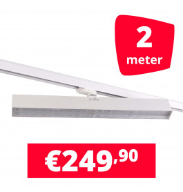 LED Railverlichting Easy Focus Wall 60 cm Wit 2 spots + 2M rails