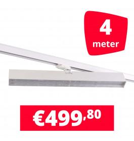 LED Railverlichting Easy Focus Wall 60 cm Wit 4 spots + 4M rails