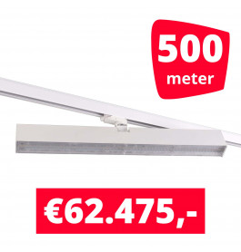 LED Railverlichting Easy Focus Wall 60 cm Wit 500 spots + 500M rails