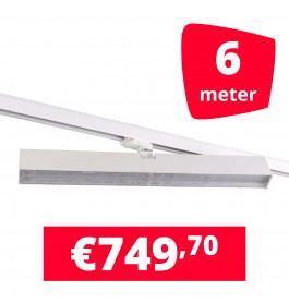 LED Railverlichting Easy Focus Wall 60 cm Wit 6 spots + 6M rails