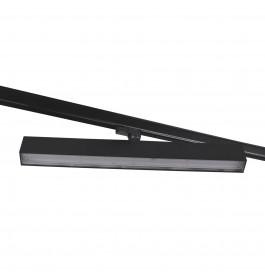 LED Railverlichting Easy Focus Wall Zwart 600mm