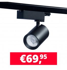 LED spot Eos Philips zwart