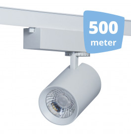 LED RAILVERLICHTING EOS WIT 500 SPOTS + 500M RAILS