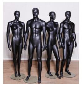4 x gestyleerde etalagefiguren van merk gruppo corso