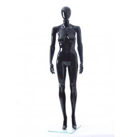 Faceless etalagepop dame glossy zwart GLB7