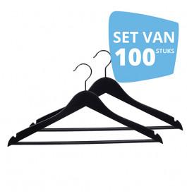 100X Hanger Helena 44cm Bar Black