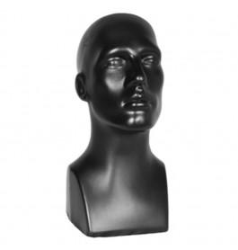 Plastic collection hoofd heer zwart 1510A-04