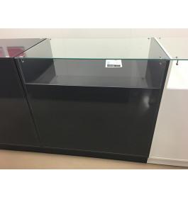glossy toonbank grijs 100 cm breed C-PEK-004