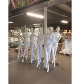Damesfiguren abstract van exclusief A-merk wit