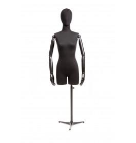 Vintage 3/4 torso dame merk Gruppo Corso zwart / zwart