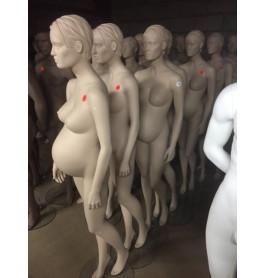 Nieuwe Zwangere etalagepoppen