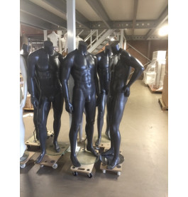 Headless heren antraciet