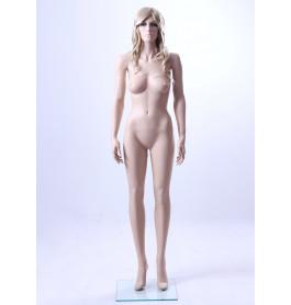 Realistische etalagepop vrouw, huidkleurig ROS3