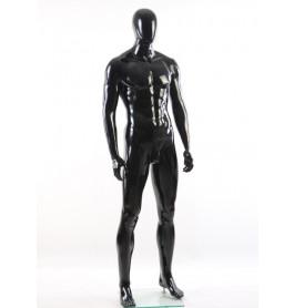 Faceless etalagepop heer glossy zwart GMB2
