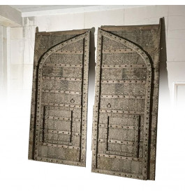 Indian Palace Doors by Marthijn de Groot