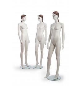 3 x Realistisch etalagepop dame JANE 01 + JANE 02 + JANE 03