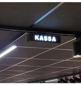 "LED-Sign ""KASSA"""