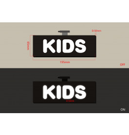 "LED-Sign ""KIDS"""