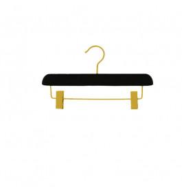 Hanger kids black Sofi 30 cm with gold hook
