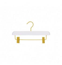 Hanger kids white Sofi 30 cm with gold hook
