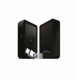 Klantenteller met USB