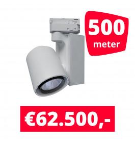 LED Railverlichting Ledimo 5 Wit 500 spots + 500M rails