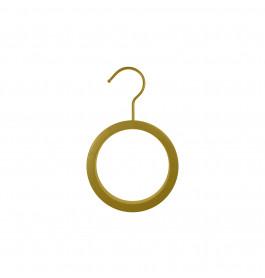 Kledinghanger rond voor sjaal goud