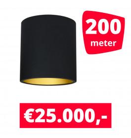 LED Railverlichting Lipari Zwart 200 spots + 200M rails