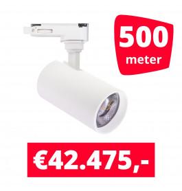 LED Railverlichting Meteora S Wit 500 spots + 500M rails