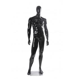 Faceless etalagepop heer glossy zwart MGM02B