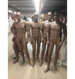 donkere stoere Realistische heren etalagepoppen van exclusief A-merk