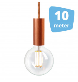 10X NUD Aqua Copper Series  Railverlichting + 10M Rails